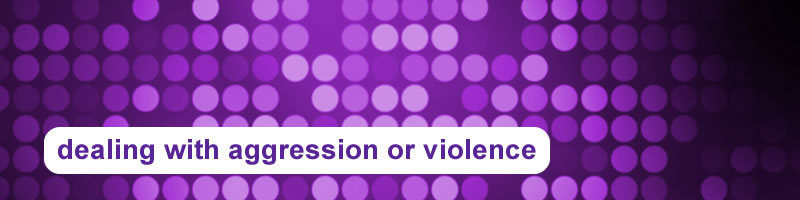 9. Dealing with Aggression or Violence